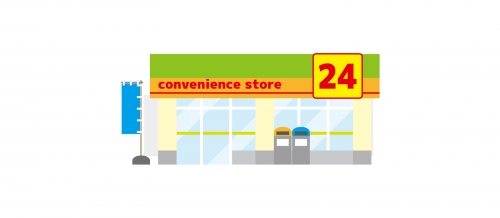 【Convenience store in JR Nakayamadera st】Opening staff wanted!!