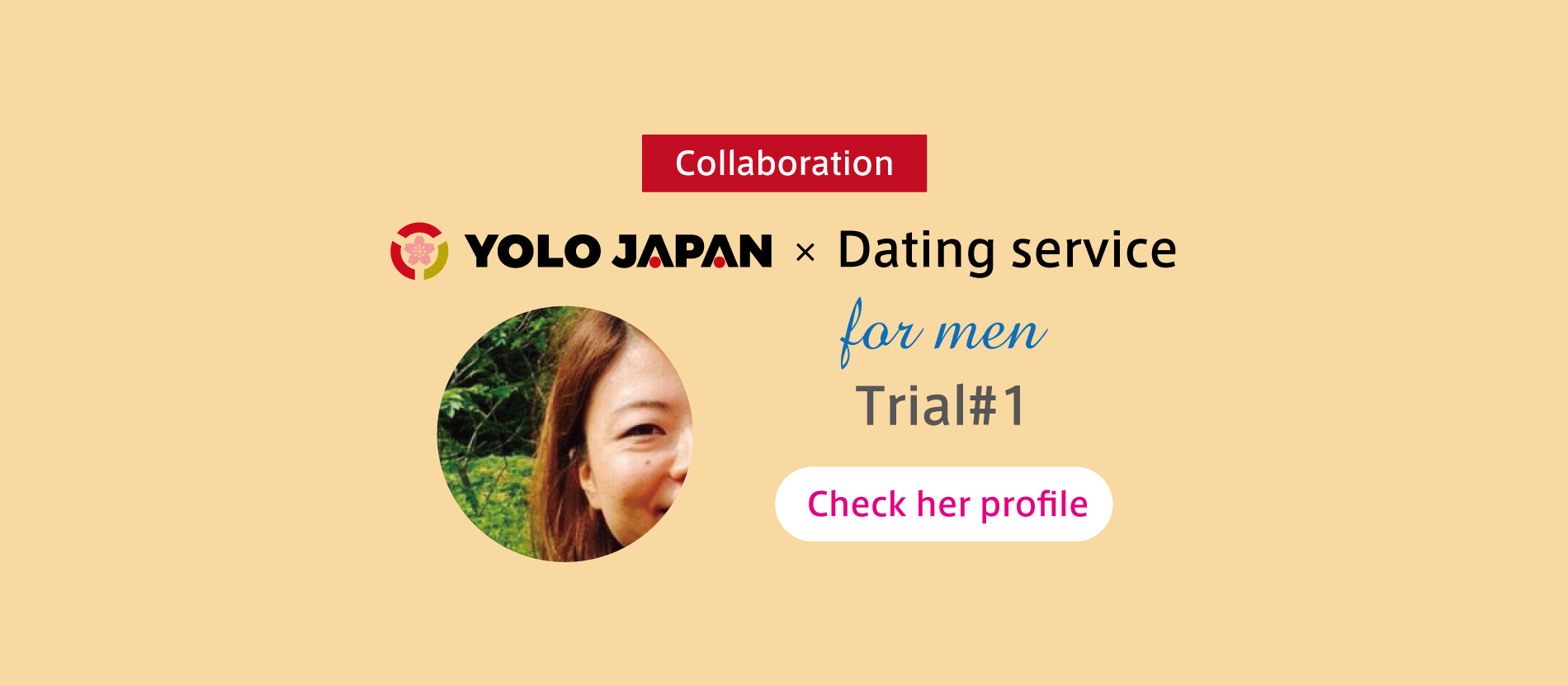 YOLO JAPAN×Dating Service Looking for Men! #1 Survey Jobs in